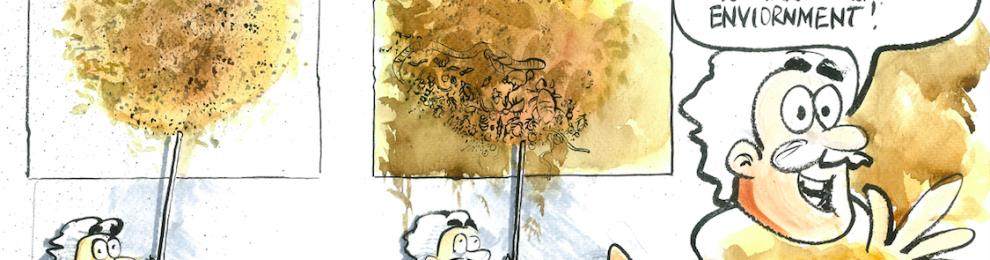 ' Soil Makes Art' –  Ed's Artist in Residency at Queens University, Belfast